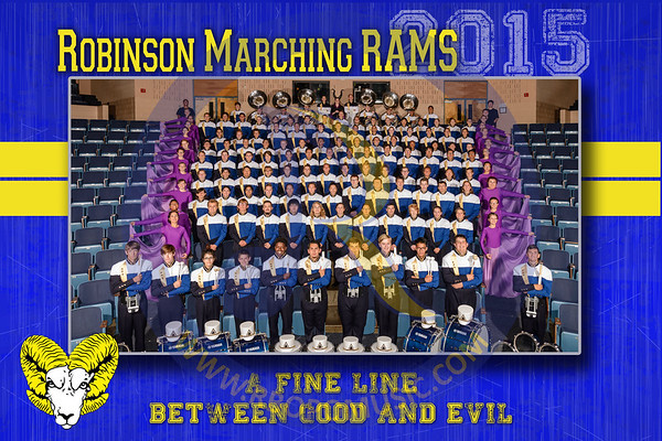 2015 Marching Rams Portraits