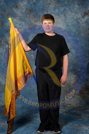 2015 Color Guard Portraits