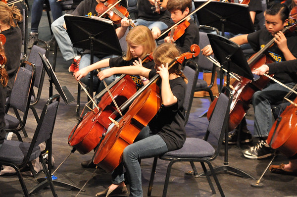 MS Orchestra Pre Assessment Concert