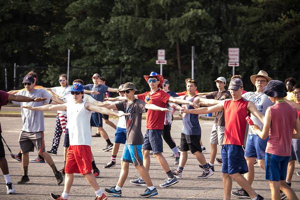 8-13-2018 Patriotic Day Band Camp