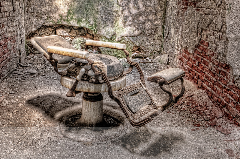 Dentist Chair at Eastern State Penitentiary