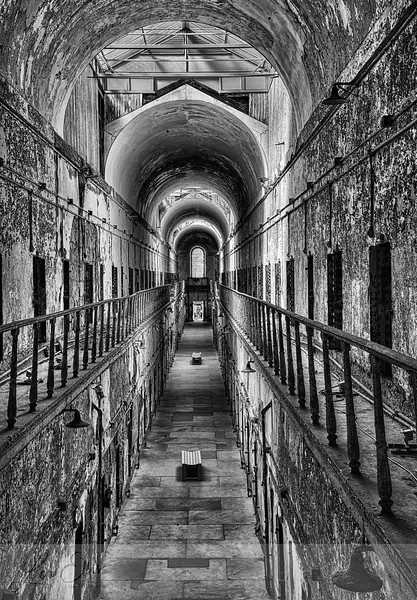 Cell Block with Arch