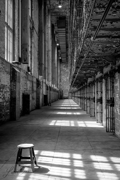 West Cell Block with Stool