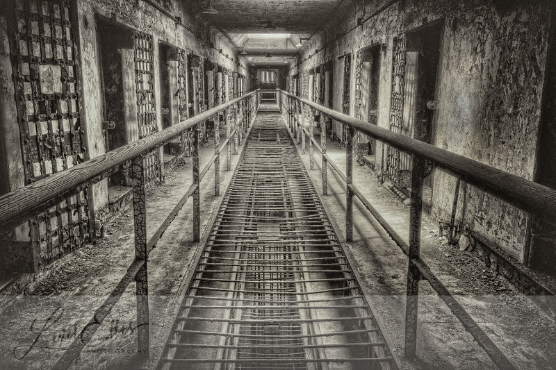 Cell Block with Tracks