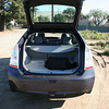 A look at the 2010 Prius with the hatch open.