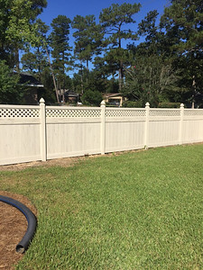 Almond Streaked and Emobossed Hollingsworth Fence