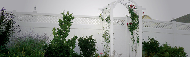 White Hollingsworth Fence