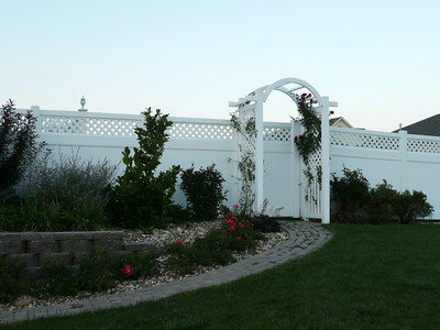 Hollingsworth Fence with Arbor