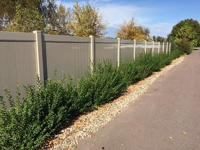 Adobe Lakeland Fence