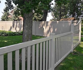 Almond Lakeland and Malibu Fence