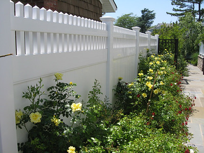 Montauk Point Sraight Fence