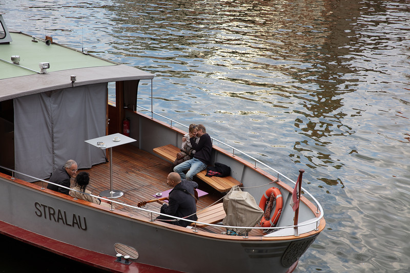 The Jazzy River Boat in Berlin.