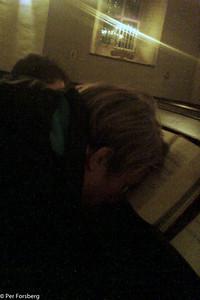 ...så att han kunde vila lite under tiden... :-)