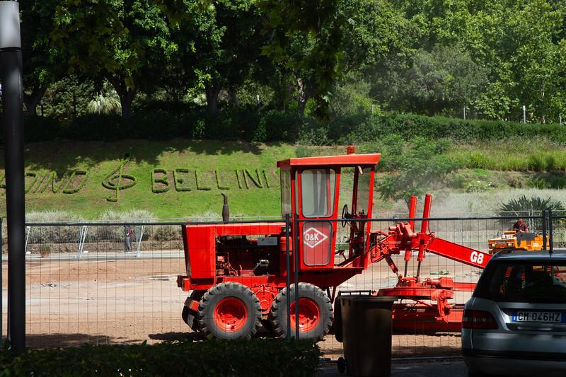 A mesés Bellini kert! :-)