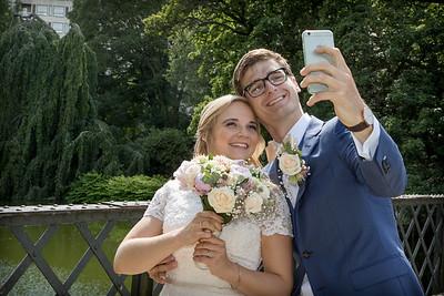 Line og Peters Bryllup