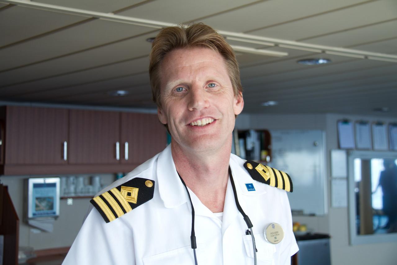 Per Abbe från Borstahusen träffade vi redan för två årbsedan ombord på Norwegian Sun.