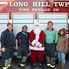 Volunteering During Fire Fighter Santa
