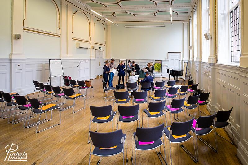 St Brides Foundation Concert Hall, London