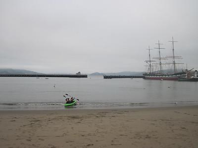 Berkeley Challenge Alcatraz Swim 4.27.13