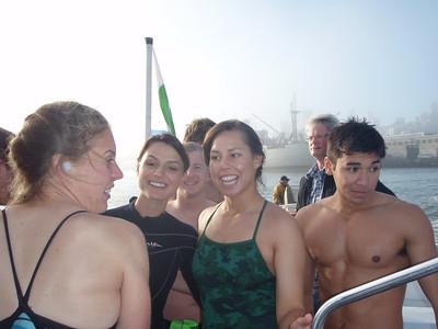 Alcatraz U.S. Air Force Academy +Berkeley/Orinda swim.
