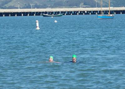 Berkeley Haas Alcatraz Swim 2014