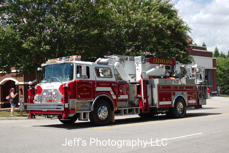 Cleveland Fire Department Tower #45