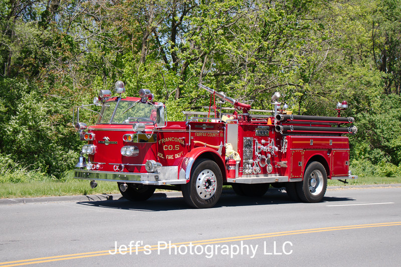 Franconia Volunteer Fire Department Pumper