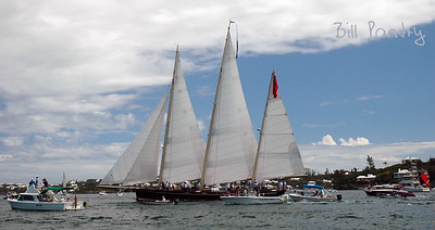 """Spirit of Bermuda"", first home coming in September, 2006"
