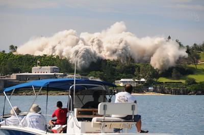 Hotel implosion, September, 2008.