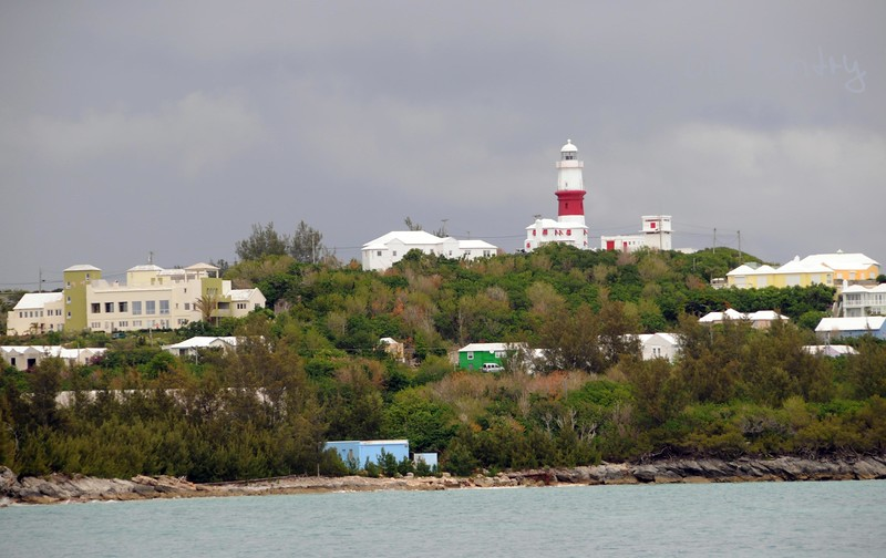 St Davids Lighthouse from the south
