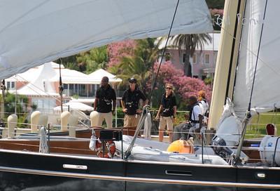 "Lawson as ""Spirit of Bermuda"" returns home, Tall Ships 2009"