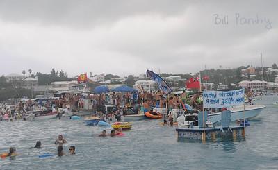 Non-Mariners Race in the rain