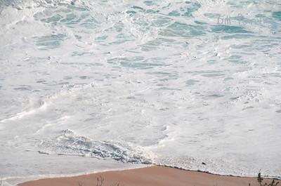 Sept., 2010.  Igor surf at Warwick Long Bay