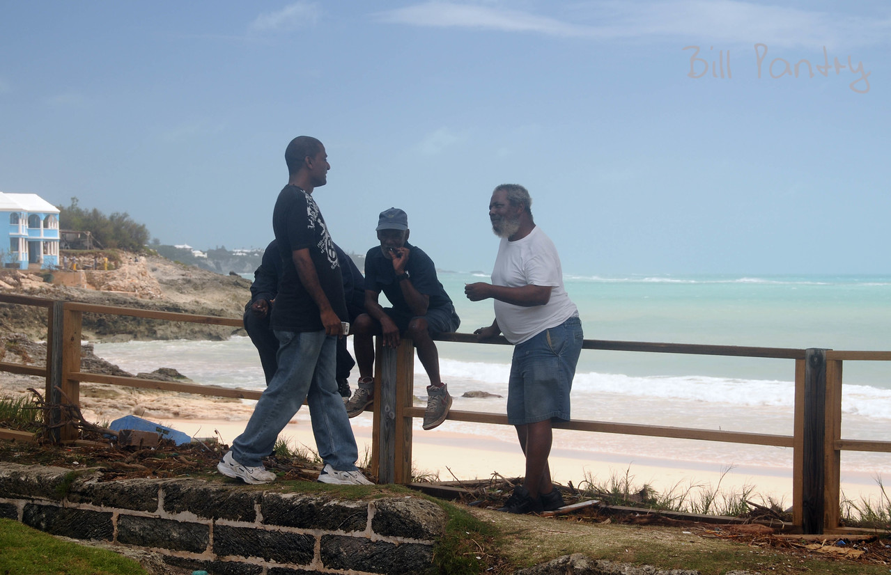 Igor aftermath, John Smith's Bay