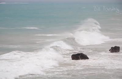Sept., 2010.  Igor surf, Church Bay