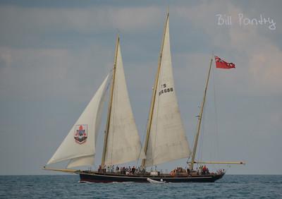 Spirit of Bermuda, off the North Shore