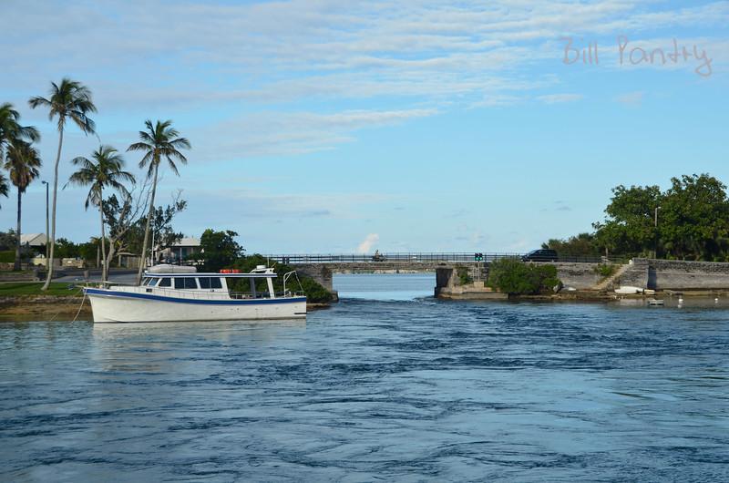The Current at Flatts Bridge, Bermuda