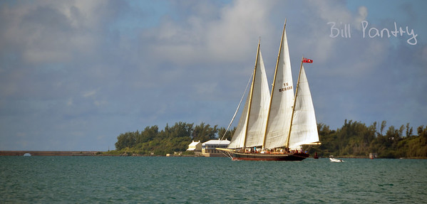 """Spirit of Bermuda"", in the Great Sound"