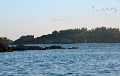 View of Castle Island from Nonsuch Island, Castle Harbour
