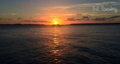 Sunset from Nonsuch Island, Castle Harbour