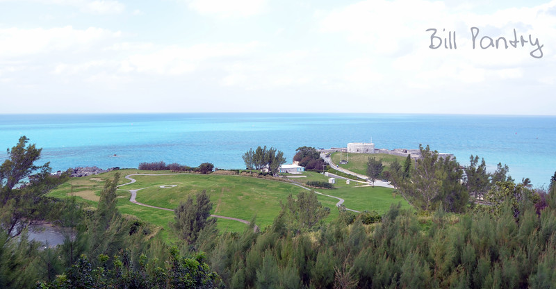 view North from Club Med site, St Georges, Bermuda