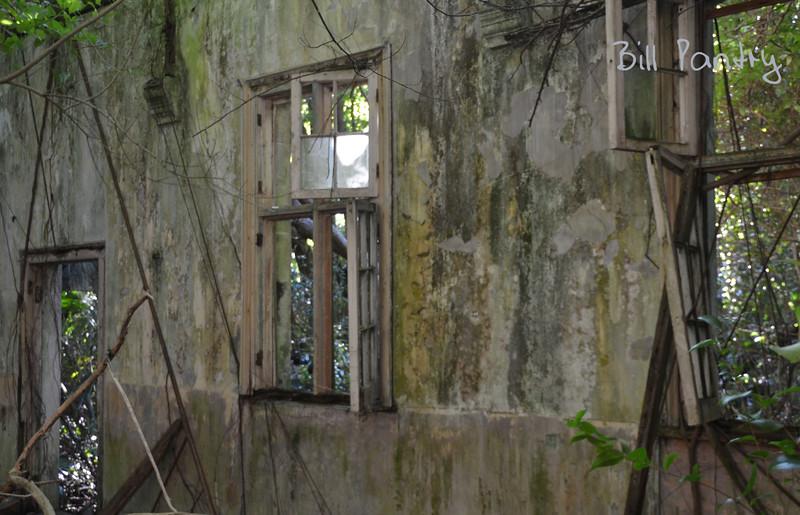 ruins, Lagoon Park on Ireland Island, Sandys, Bermuda