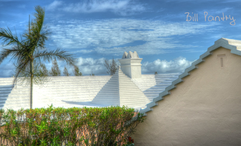 Roof in Knapton Estate, Smith's, Bermuda