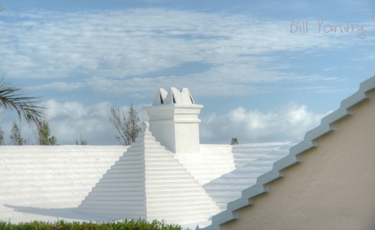 Roof in Knapton Estate, Smith's, Bermuda