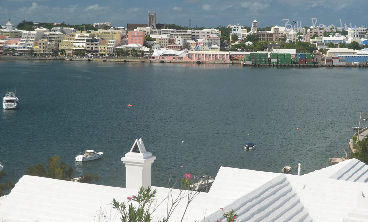 """view from """"Rocheterre"""", Valley Rd., Paget, Bermuda"""