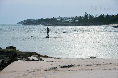 Ariel Sands, along the shore. Devonshire, Bermuda
