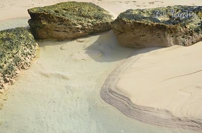South Shore beaches after a storm, Southampton, Bermuda