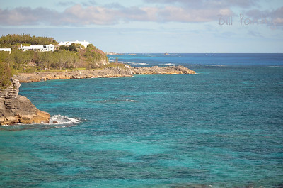 View East from Spittal Pond Nature Reserve, Smith's, Bermuda.