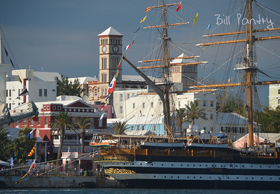 Tallships 2017, massing in Hamilton Harbour, Bermuda