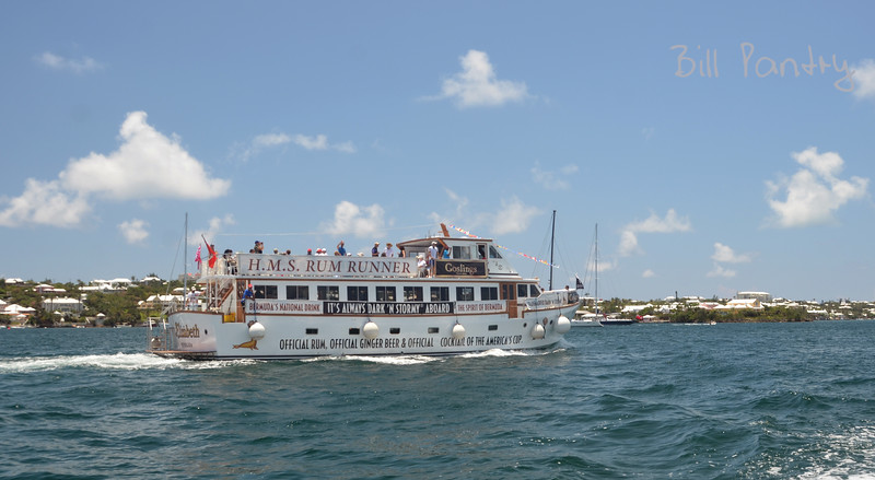 Gosling's America's Cup spectator boat